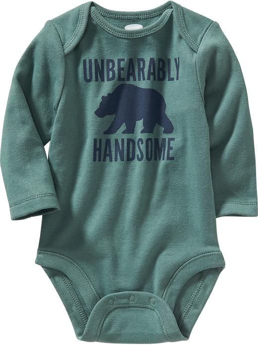 Graphic Bodysuits for Baby Product Image