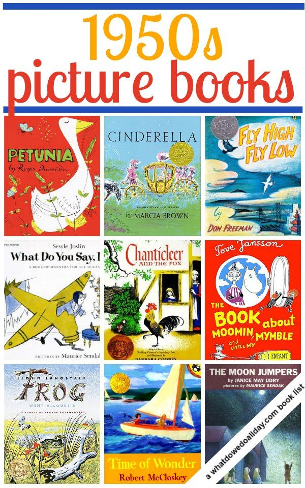 ten 1950s childrens picture books vintage books best