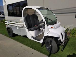 Chrysler 2012 Chrysler Gem eL XD 2 Passenger Utility Flat Bed Street Legal LSV Golf Cart polaris fast 25 mph drives good with cal title