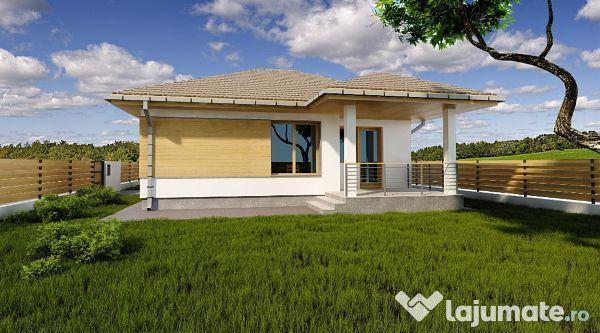 Casa superba la cheie, 2 dormitoare,teren 470 mp vest, 65.000 eur - Lajumate.ro