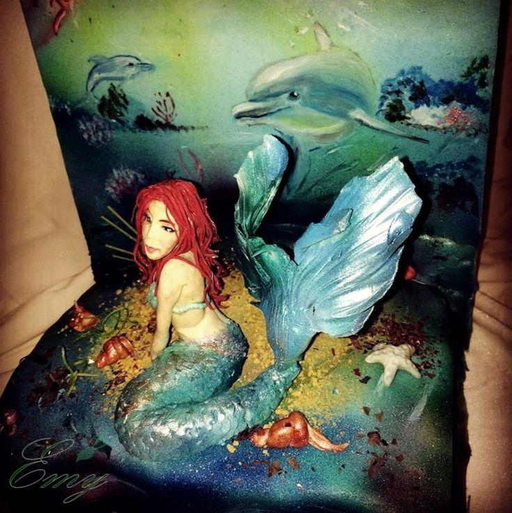 Mermaid cake / Under the sea - cake by EmyCakeDesign
