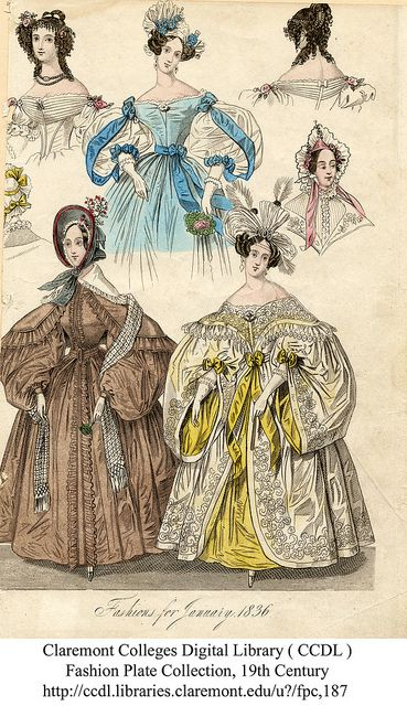 Winter fashions, 1831 | by Claremont Colleges Digital Library