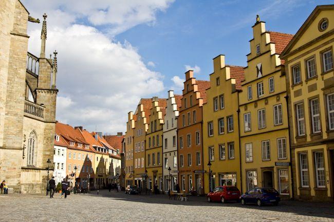 Adam Heinrich Brackemeier- Helen's Great Great Grandfather. Hanseatic City: Merchant Houses in Osnabruck, Germany
