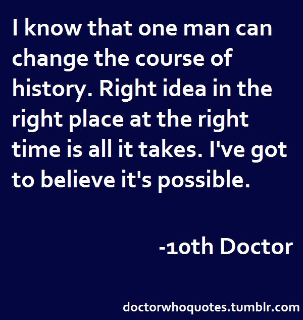Doctor Who Quotes                                                       …