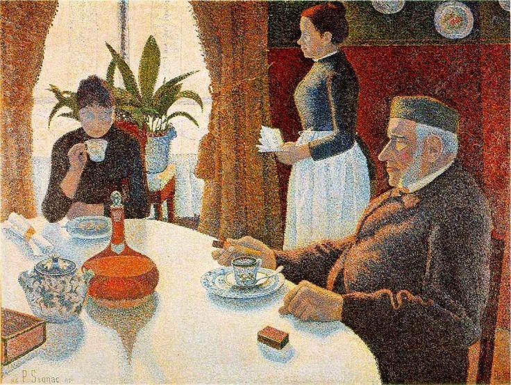 signac.dining. Камиль Писсарро