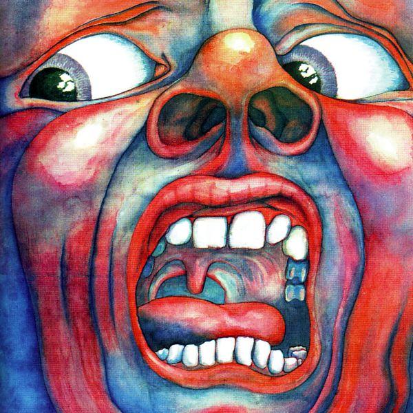 In The Court Of The Crimson King Lp King Crimson Album Art 21st Century Schizoid Man