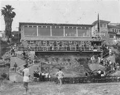 Whale Beach Clubhouse in the Northern Beaches region of Sydney in 1953.