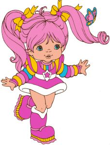 tickled pink colour kid from original rainbow brite by hallmark