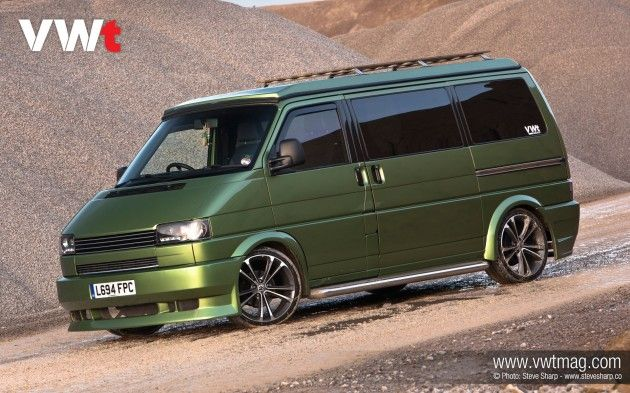 The VW scene is a hotbed of originality, so Jez Dyke of Dubtricks has added a little Apple innovation to his 1994 VW T4 to create a unique all rounder