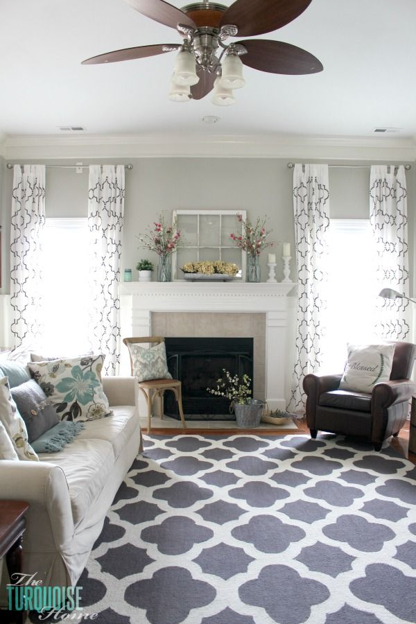 My Favorite Sources For Affordable Area Rugs. Living Room StylesHome Living  RoomLivingroom Curtain IdeasCurtain ...