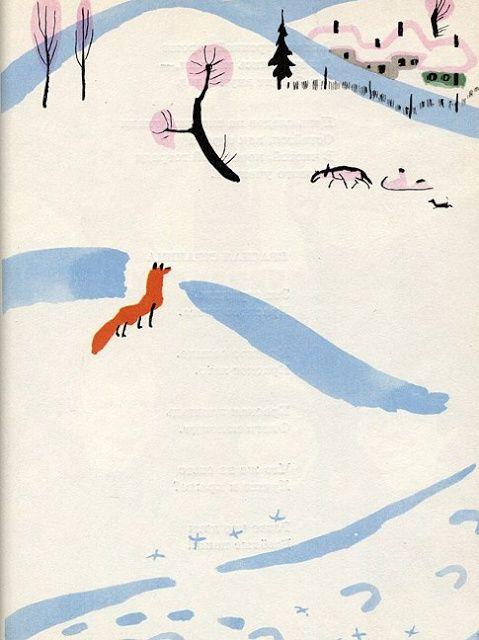 **illus by Mai Miturich, Poems For Children, 1965 (Samuil Marshak)