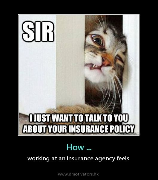 Life of an Insurance agent!..