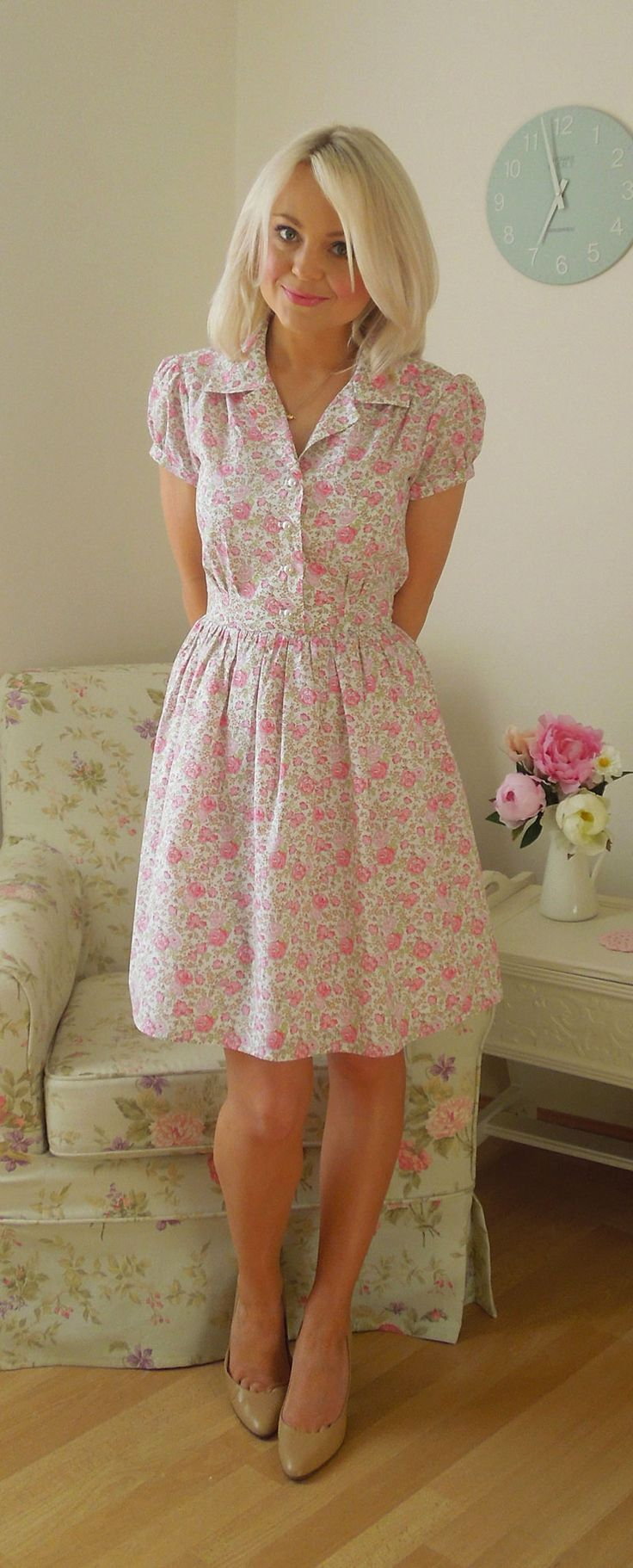 Simplicity 1880 - Ami's take on this is just gorgeous. Liberty prints are a winner
