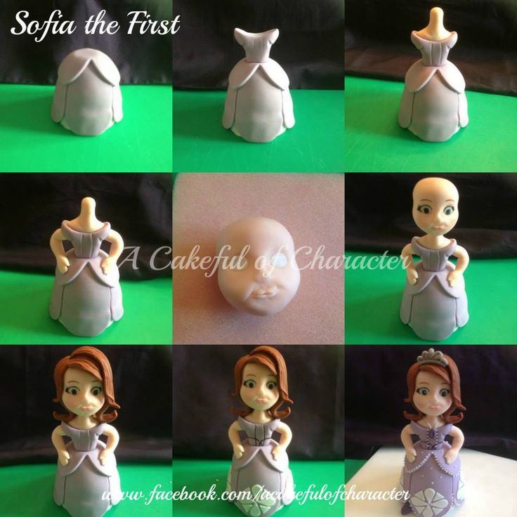 https://www.facebook.com/ACakefulOfCharacter Sofia the first