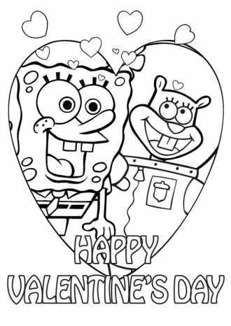 Играть Спанч Боб бесплатно раскраска для детей / А4 формат ...