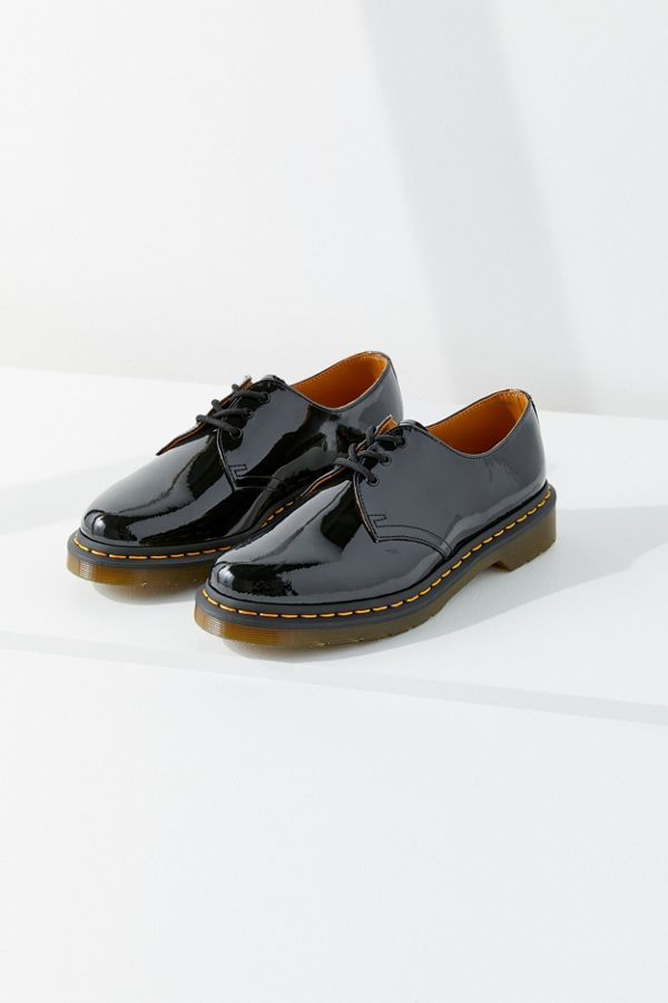 Slide View 4 Dr Martens 1461 Patent 3 Eye Oxford Women Clothes Sale Martens Lace Up Shoes