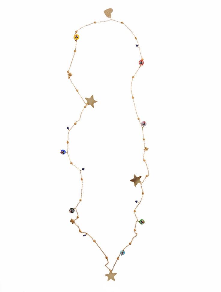 MERCEDES SALAZAR  Charm Necklace   $150