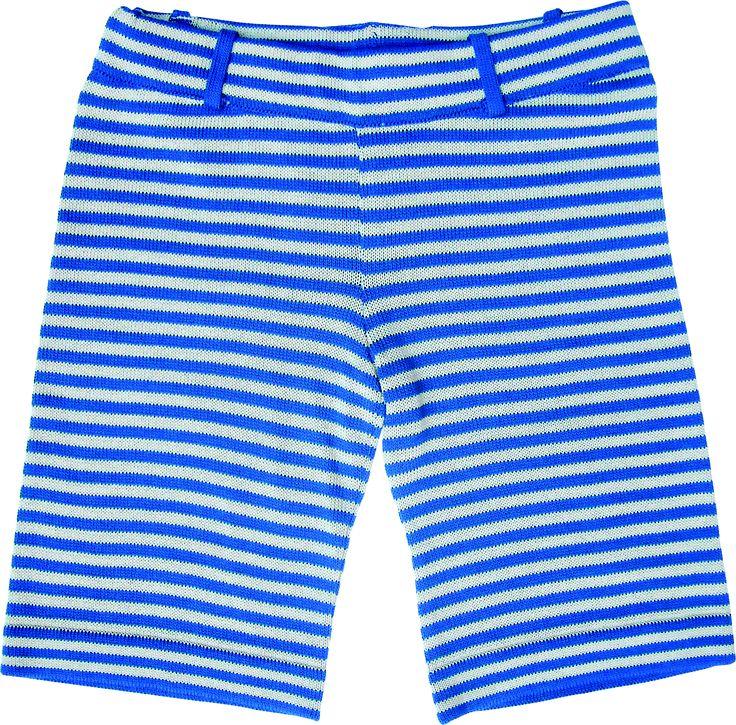 Bermuda stripe blu and white. 100% cotton