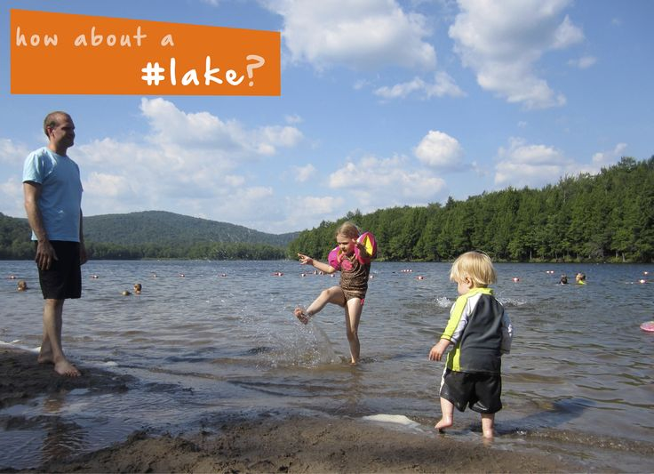 How about a family getaway this weekend to a #lake near you? Tons of #summer #familyfun!