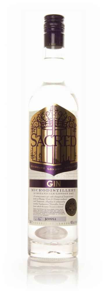 Sacred Gin is a hand made gin produced in #small batches in London by Ian Hart. It is made with #citrus, #juniper, #cardamom, #nutmeg and #Hougari #frankincense as well as 7 other botanicals. In 2009 it was the #Overall Winner at Ginmasters, with a score of 98 points out of a possible 100. A truly divine gin! #gin #gins #boutique gin #cocktails #bars #entertaining