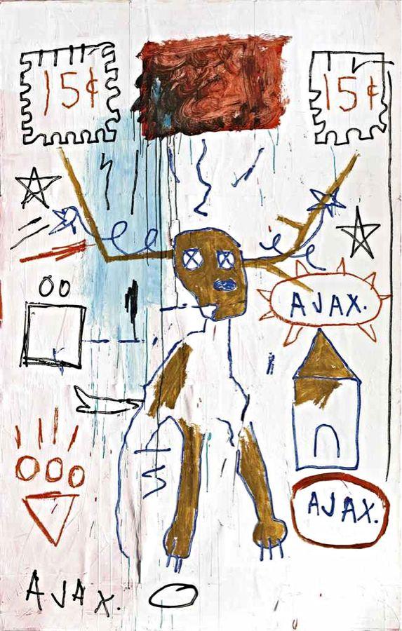 Jean-Michel Basquiat - Slide Germ, 1982