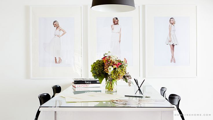 Lauren Conrad's Exclusive Office Makeover via @domainehome