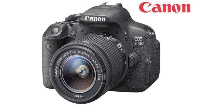 Canon EOS 700D EF-S 18-55 IS STM. AHORRO 34%. 558€. #ofertas #descuentos