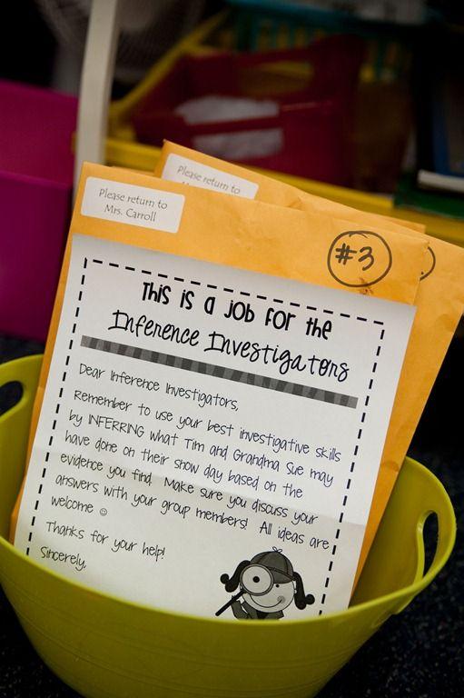 inference investigators... fun!