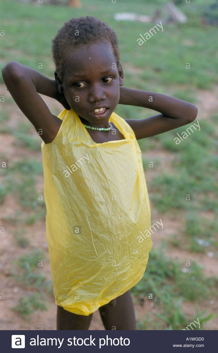 Image result for child wearing plastic bag