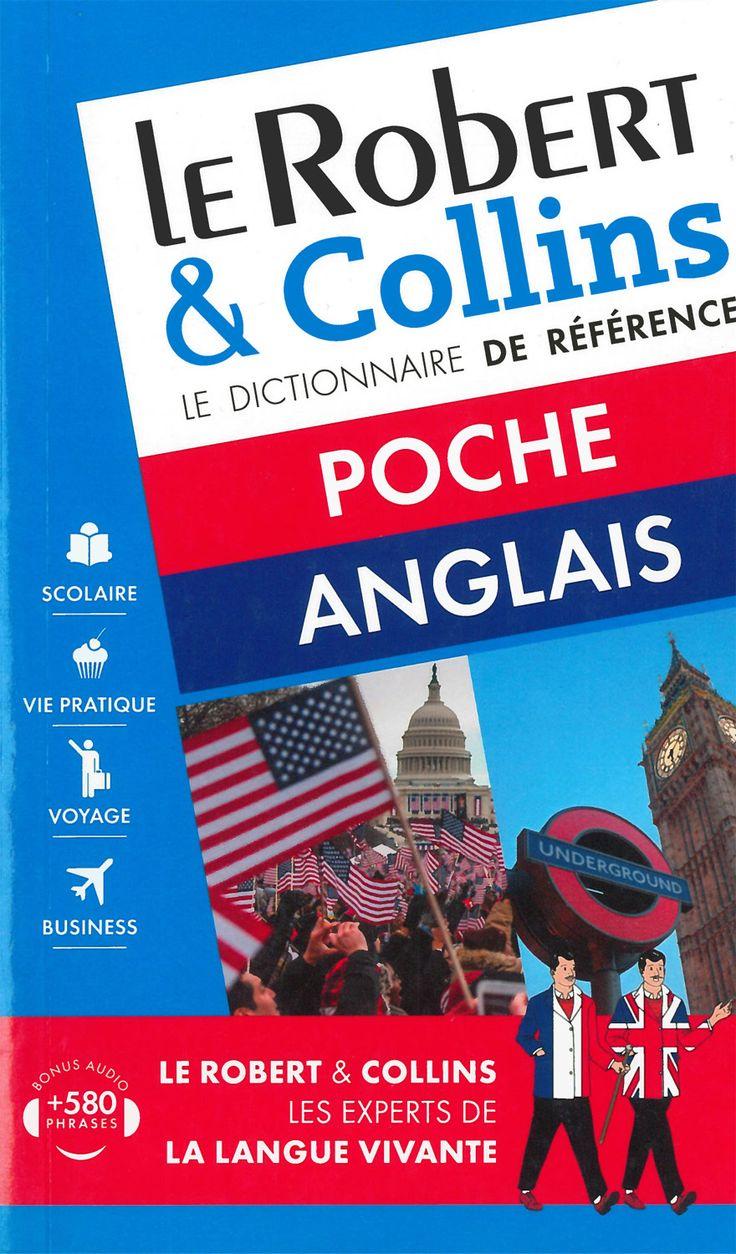 Dictionnaire - Le Robert et Collins poche anglais - Français - anglais / Anglais - français - 1200 pages, Couverture souple. 11 x 18 cm. -   Référence : 00905685  #Dictionnaire #Espagnol #Francais #Orthographe #Livre #Lecture #Cadeau #Rentree #Ecole