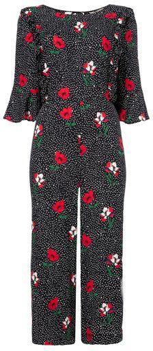 Tu clothing Multi Coloured Floral Spot Jumpsuit