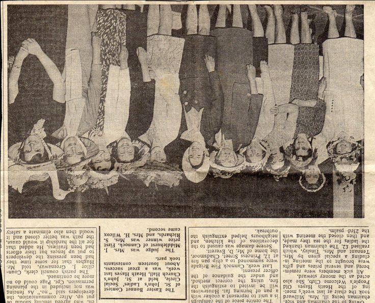 Easter Bonnets 1950   Shelia Reader Easter Bonnet Parade 1960's « Heath Hayes History