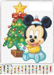 Christmas Baby Mickey