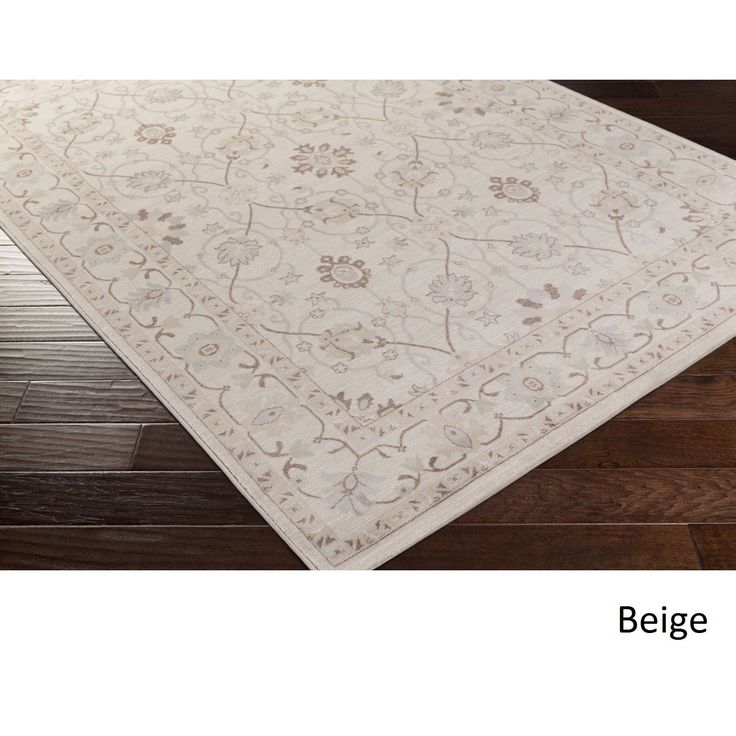 add a touch of elegance into your home with this beautiful machine made floral rug
