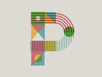 Textura para letras