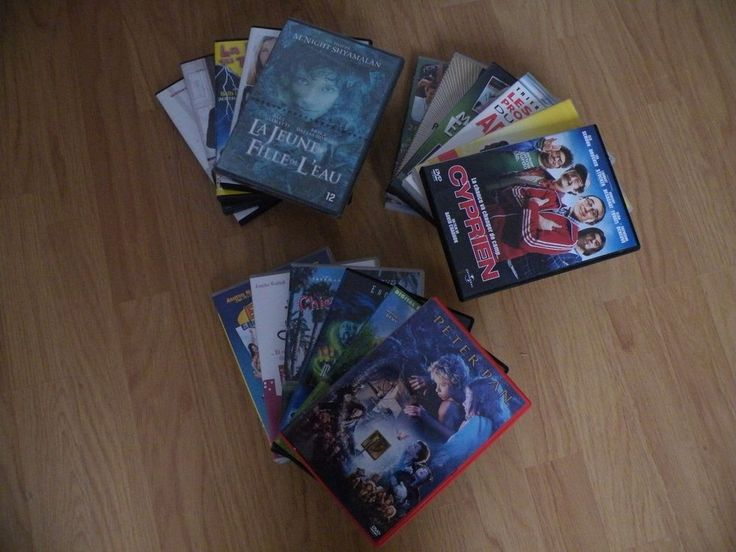 Lot 17 DvD divers