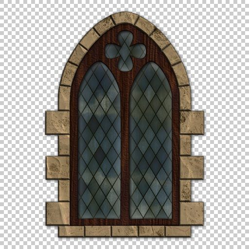 Spiral Graphics - Free Seamless Medieval Window Textures