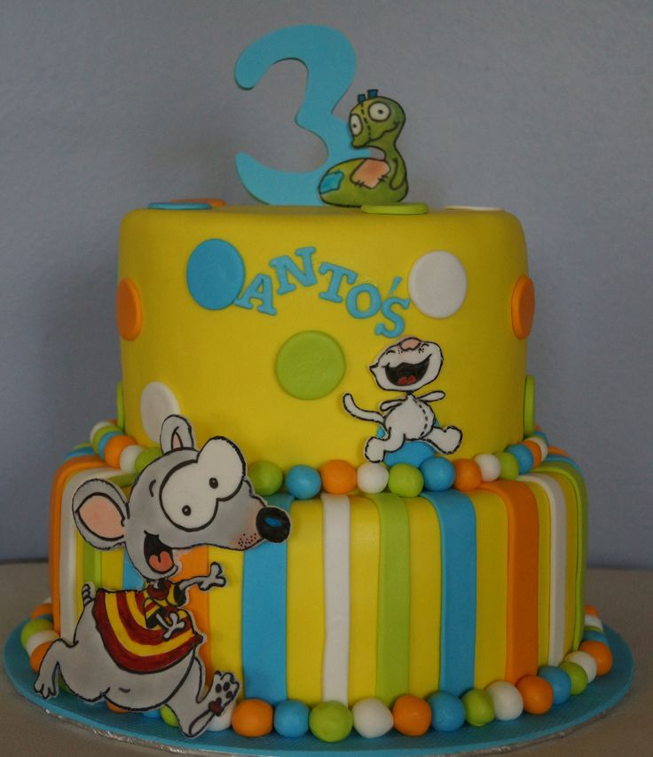 Toopy And Binoo Cake Ideas