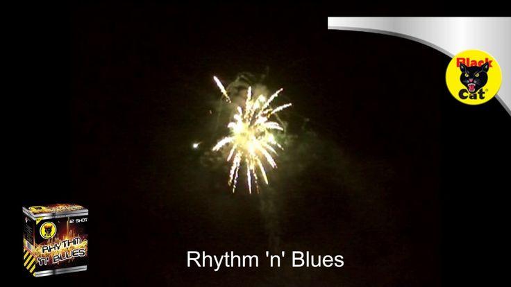 Rhythm N Blues 12 Shot Cake by Black Cat Fireworks