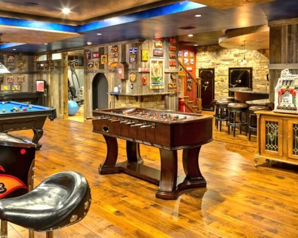 Cool Man Cave Art : Images about sheds that can be turned into a man