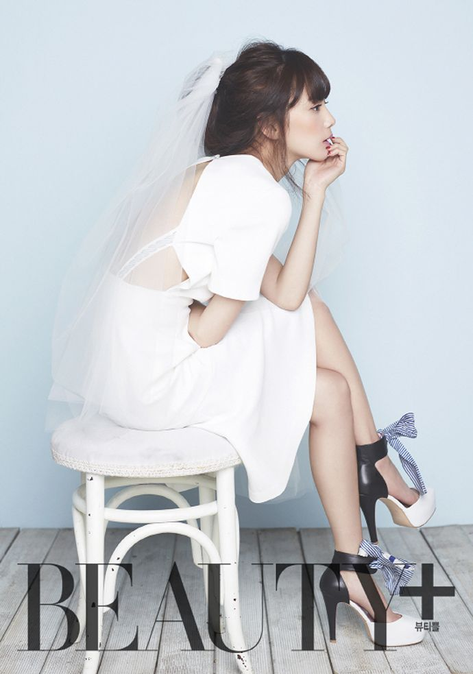 Yoon Seung Ah Covers BEAUTY+ Korea Magazine February 2014 Issue