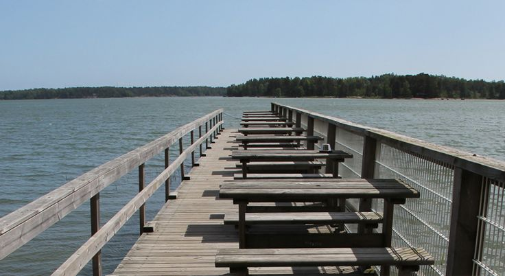 Coriosi – Let's make your dreams come true! A Finnish communications agency. Photo of a jetty by Coriosi.