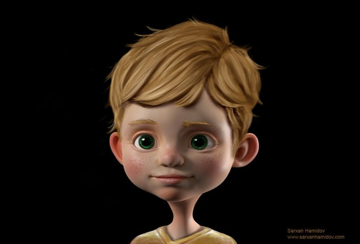 Boy Character Concept, Sarxan Hamidov on ArtStation at https://www.artstation.com/artwork/DNwwG