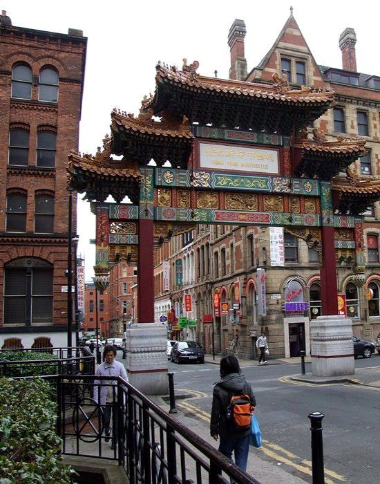 China town.. Manchester, England