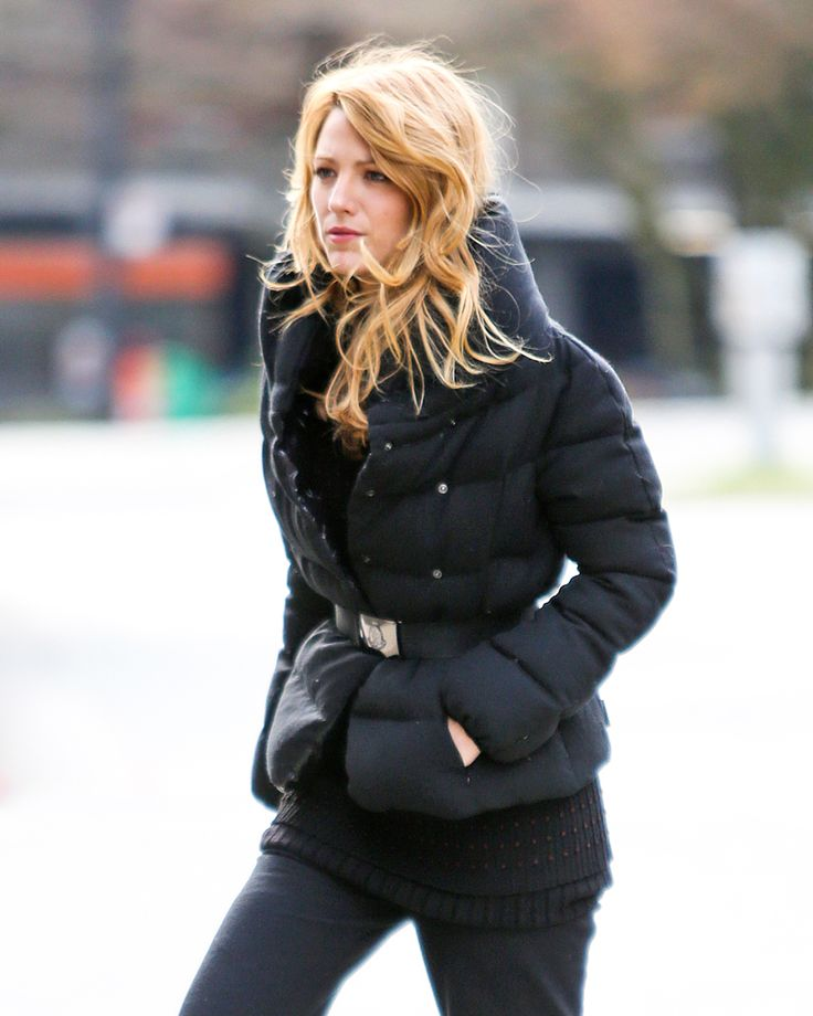 Throwback with Blake Lively wearing a Moncler jacket #moncler #friends #blakelively #friendsofmoncler