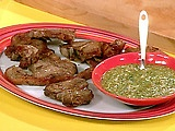 Pork chops with mint mustard sauce: Sauces Recipe, Food Network, Mustard Dips, Sauce Recipes, Dips Sauces, Dipping Sauces, Easy To Follow Lamb, Lamb Chops, Rachael Ray
