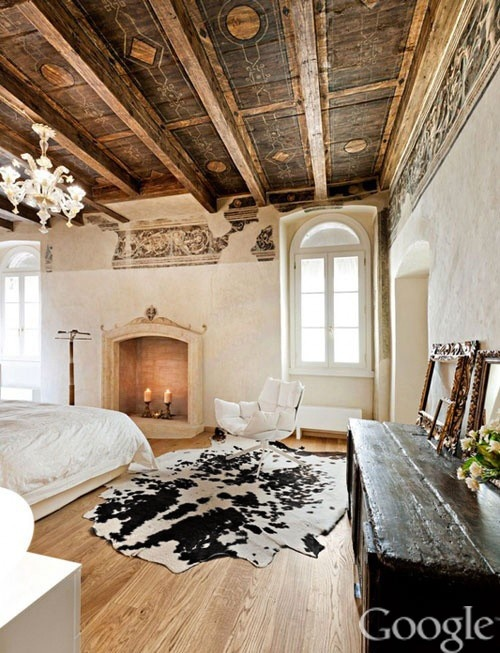 239 best Cowhide Rugs in Rooms images on Pinterest | Bath design ...