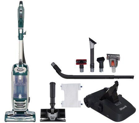 Shark Rotator Powered Lift Away Deluxe Vacuum With 8