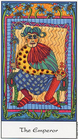 The Emperor - Tarot of the Trance