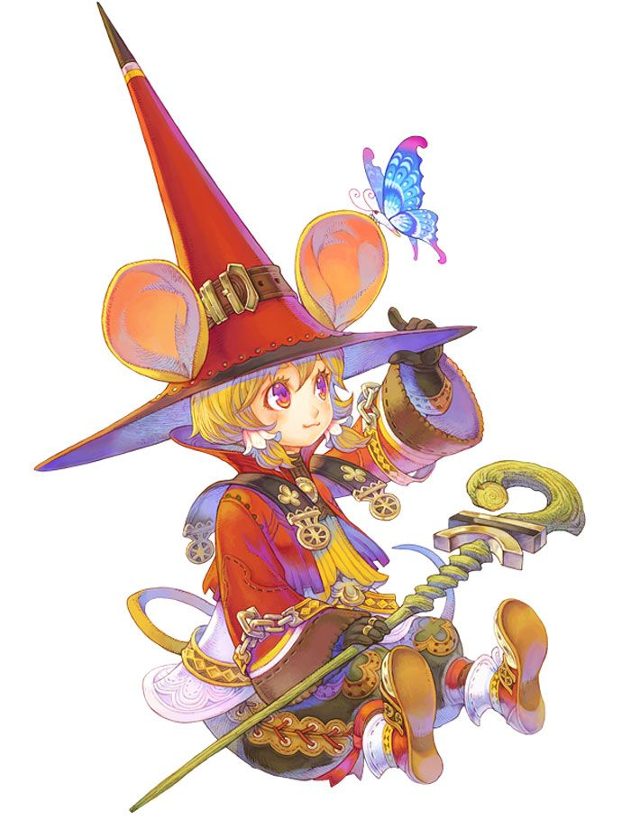 Wizard Female - Characters & Art - Lime Odyssey: The Chronicles of Orta
